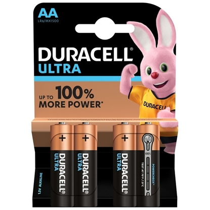 Picture of DURACELL ULTRA * AA * 4 PACK x 20