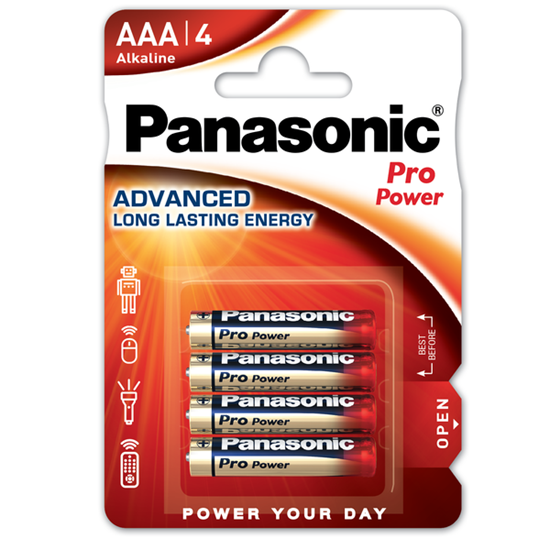 Picture of PANASONIC PRO POWER 4PK AAA X 12