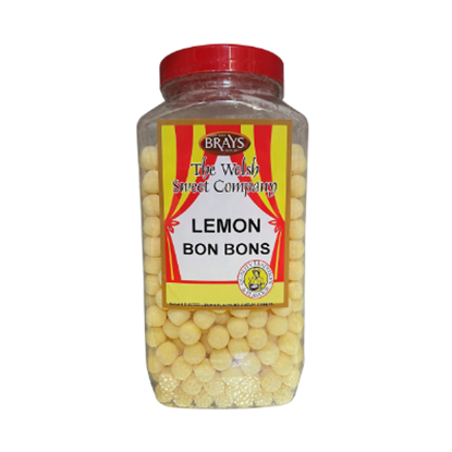 Picture of BRAYS W/O LEMON BON BONS 3KG JAR