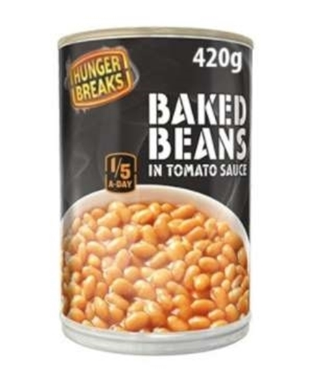 Picture of HUNGER BREAKS BAKED BEANS 420g x 12