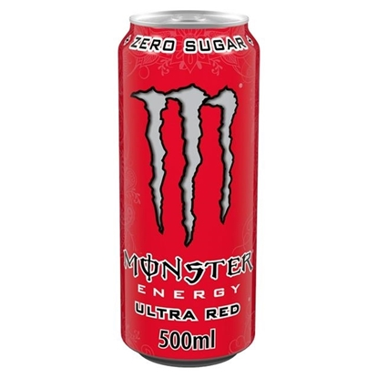 Picture of PM £1.35 MONSTER ULTRA RED 500ML X 12
