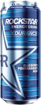 Picture of PM £1.19 ROCKSTAR XDURANCE BLUE 500ML x 12
