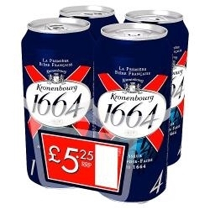 Picture of PM £5.25 KRONENBOURG 1664 440ML X 4PK X 6