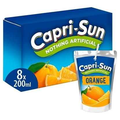 Picture of CAPRI SUN ORANGE 200ML X 8 X 4
