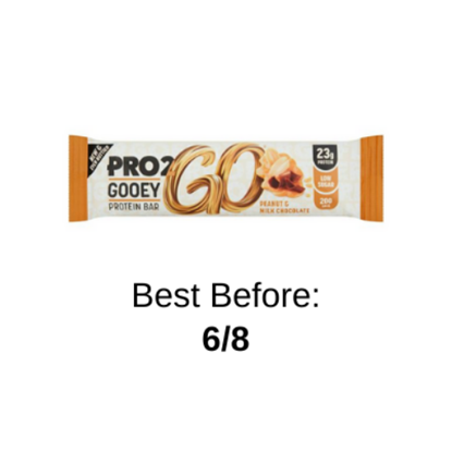 Picture of PRO 2GO GOOEY PROTEIN PEANUT BAR 60G X 12