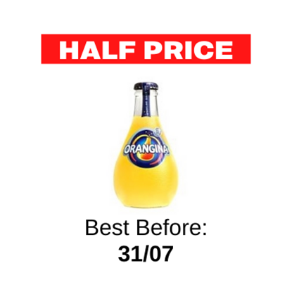 Picture of ORANGINA BULBY 250ml x 12