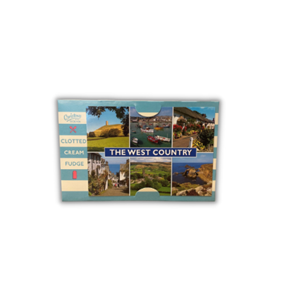 Picture of BRISTOWS CREAM FUDGE W/COUNTRY POSTCARD 150G X 10