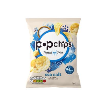 Picture of POPCHIPS SEA SALT CRISPS 23g x 24