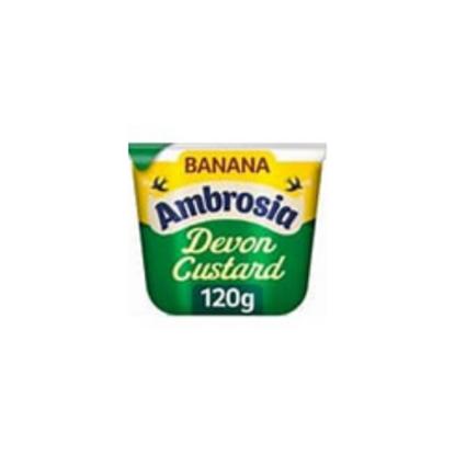 Picture of AMBROSIA CUSTARD POT BANANA 120g x 12