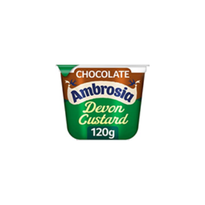 Picture of AMBROSIA CUSTARD POT CHOCOLATE 120g x 12