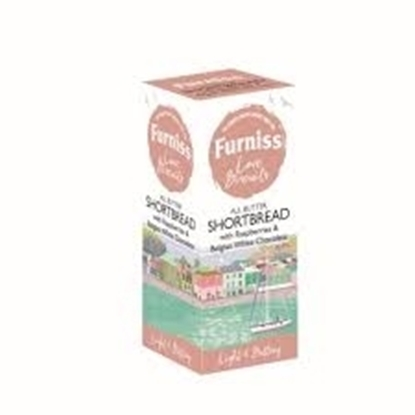 Picture of FURNISS BUTTER S/BREAD & RASP/CHOC *NEW* 200g x 12